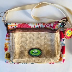 Lily Bloom Spring Showers Lydia Mid Crossbody Bag